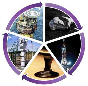 Geochem workflow wheel