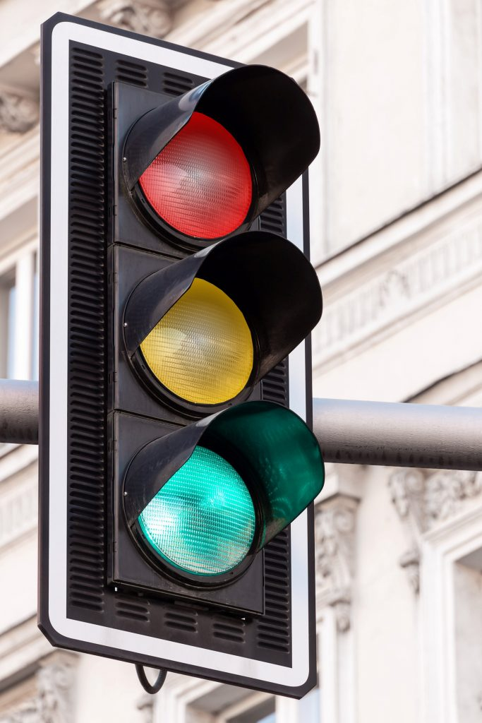 Traffic light reports highlight risks and mitigation actions