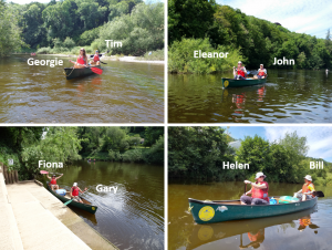 Read more about the article Canoeing fun for Merlin